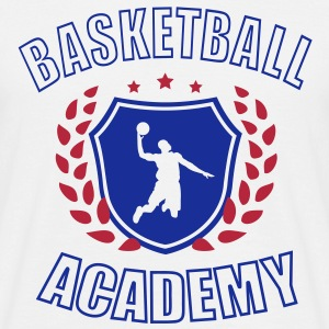 Basketball Academy T-shirts - Mannen T-shirt