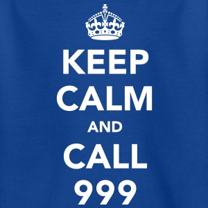 Keep Calm and Call 999 Shirts - Teenage T-shirt
