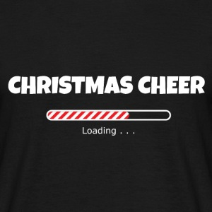 Christmas Cheer Loading T-Shirts - Men's T-Shirt