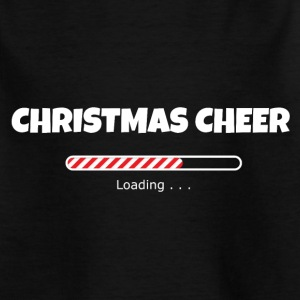 Christmas Cheer Loading Shirts - Kids' T-Shirt