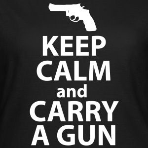 Keep Calm Get a Gun Tee shirts - Women's T-Shirt