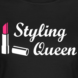 Styling Queen * Design Style Fashion Lipstick T-Shirts - Women's T-Shirt