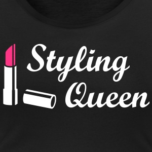 Styling Queen Style Fashion Lipstick T-Shirts - Women's Scoop Neck T-Shirt