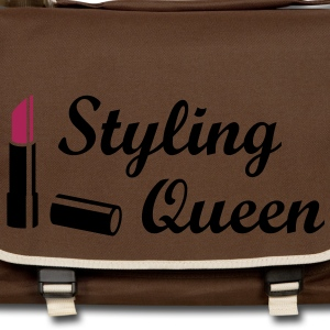 Styling Queen * Design Lipstick Style Fashion Väskor - Axelväska