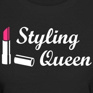Styling Queen Design Style Mode Lippenstift Stil T-Shirts - Frauen Bio-T-Shirt