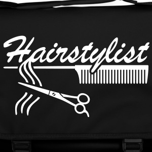 Hairstylist Barber Styling `* Comb hair scissors Bags  - Shoulder Bag