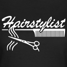 Hairstylist Barber Styling `* Comb hair scissors T-Shirts