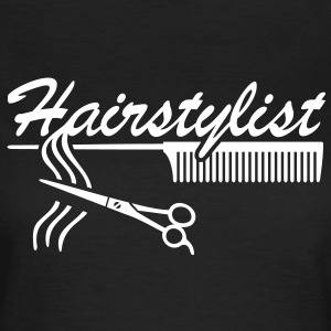 Hairstylist coiffure Styling `* Ciseaux à cheveux  Tee shirts - T-shirt Femme