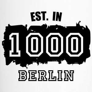Established 1000 Berlin Flaschen & Tassen - Thermobecher