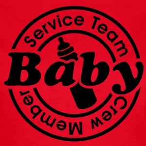 Service Team Baby  Crew Member. 24 timmar catering T-shirts - T-shirt dam