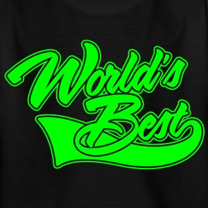 World's Best Skjorter - T-skjorte for barn