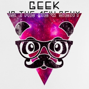 Geek is the new sexy panda Magliette - Maglietta per neonato