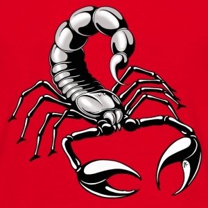 Scorpion - silver - grey - Men's T-Shirt