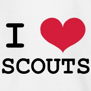 I Love Scouts Shirts - Kinderen T-shirt