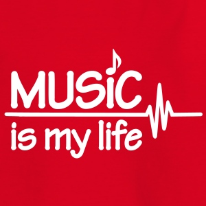 Music is my life T-Shirts - Kinder T-Shirt