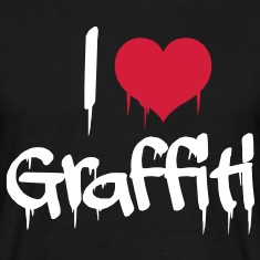 i love graffiti T-shirts