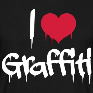 i love graffiti T-shirts - Mannen T-shirt