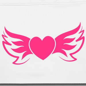 funky flying winged trendy fashion heart Bags & backpacks - Shoulder Bag