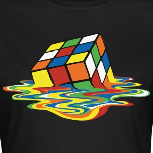 Melting Cube - Frauen T-Shirt