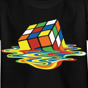 Melting Cube - Kinder T-Shirt