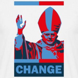 Pope Resignation - Change T-Shirt - Men's T-Shirt