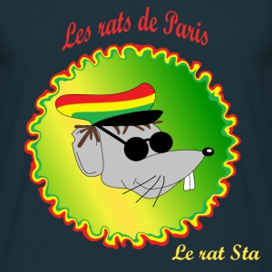 The rats of Paris - The rasta T-Shirts - Men's T-Shirt