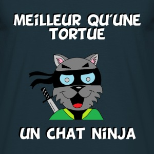 Ninja cat T-Shirts - Men's T-Shirt
