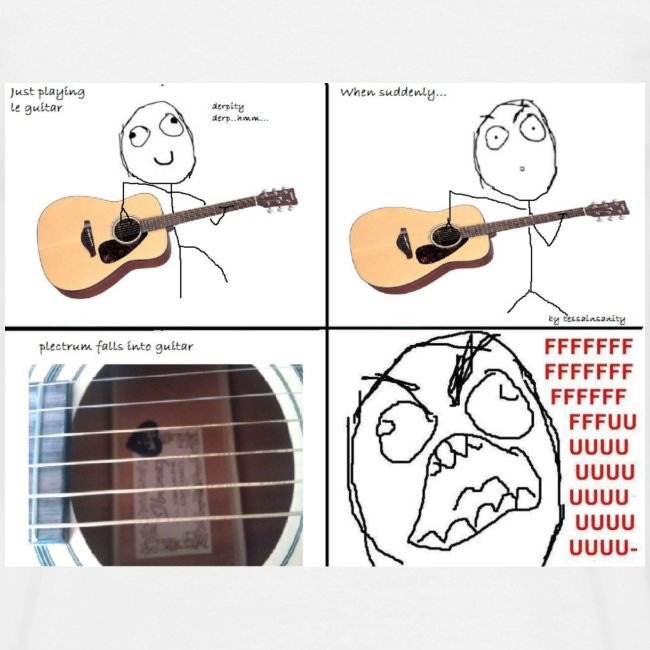 Guitar Pick Struggles