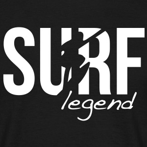 surf legend T-shirts - Mannen T-shirt