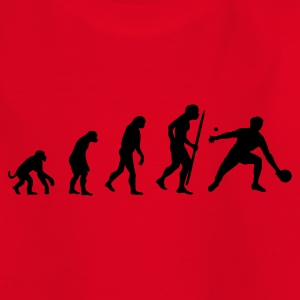 Red Evolution of Ping Pong/ table tennis Kid's Shirts  - Teenage T-shirt