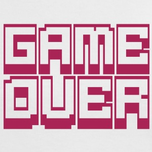 game over T-Shirts - Women's Ringer T-Shirt