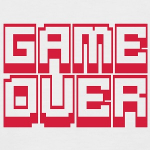 game over Tee shirts - T-shirt baseball manches courtes Homme