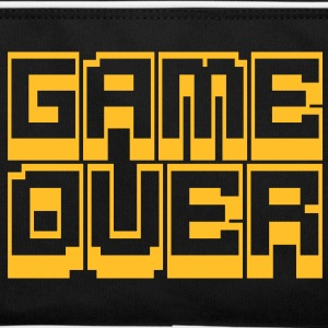 game over Tassen - Retro-tas