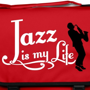 jazz is my life Borse - Tracolla