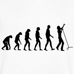 singer evolution T-Shirts - Men's V-Neck T-Shirt