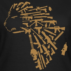 african arms T-Shirts - Frauen T-Shirt