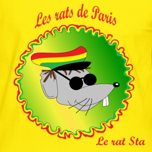 The rats of Paris - The rasta T-shirts - Mannen contrastshirt
