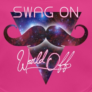 world off swag on Accessoarer - Ekologisk babyhaklapp
