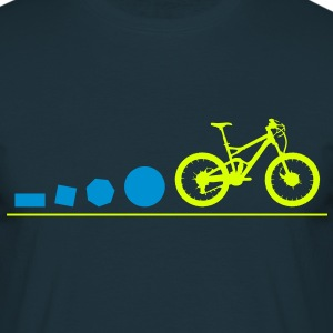Mountain Bike Evolution T-Shirts - Männer T-Shirt