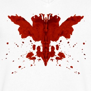 Rorschach T-Shirts - Men's V-Neck T-Shirt
