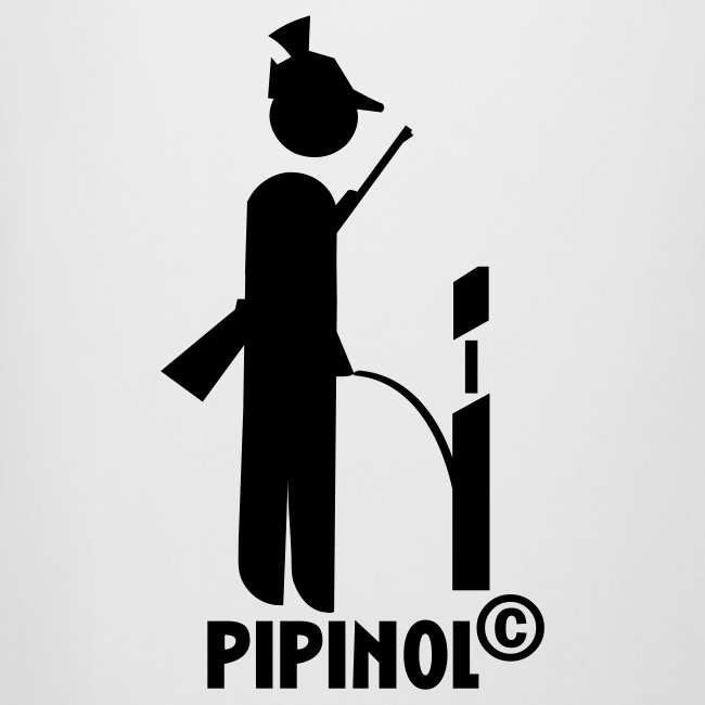 """Bierkrug """"Pipinol für alle"""""""
