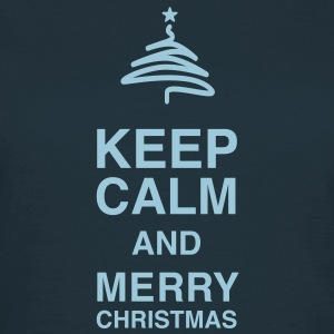 Keep Calm and merry Christmas Tee shirts - T-shirt Femme