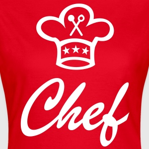 chef's hat for the chef cook T-Shirts - Women's T-Shirt