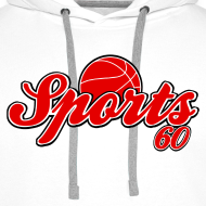 Motif ~ Sweat à capuche homme sports 60