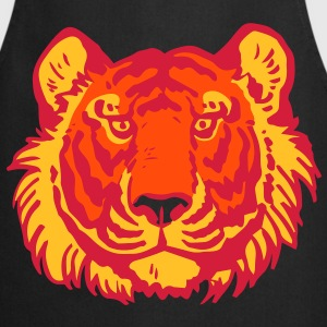 Tiger's Head by Cheerful Madness!!  Aprons - Cooking Apron