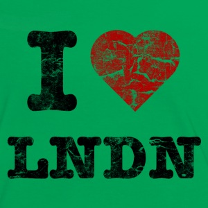 I Love LoNDoN vintage dark Tee shirts - T-shirt contraste Femme