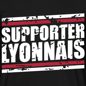 Supporter Lyonnais vintage Tee shirts - T-shirt Homme