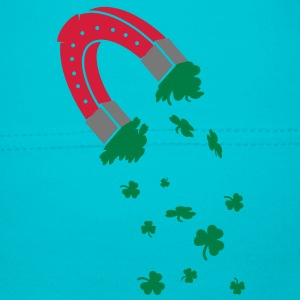 Horseshoe magnet with shamrocks Kids and Babies - Baby Cap