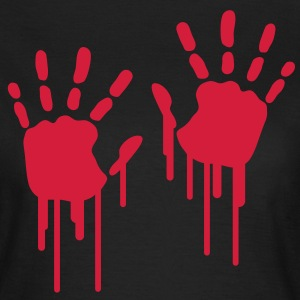 hand_prints_graffiti T-shirts - Vrouwen T-shirt