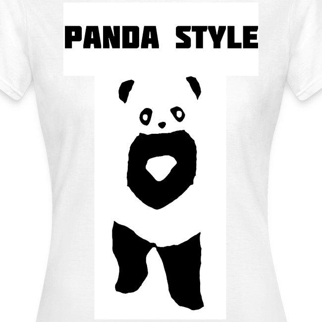 Panda t-shirt - Panda Style (Dame)